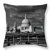 The Commute Throw Pillow