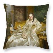 The Comtesse D'egmont Pignatelli In Spanish Costume Throw Pillow
