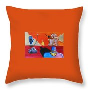 The Concept Of God Throw Pillow
