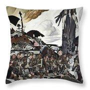 The Conquerors Throw Pillow
