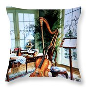 The Conservatory Throw Pillow