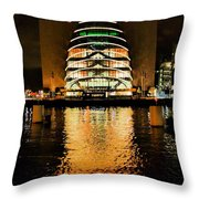 The Convention Centre Throw Pillow