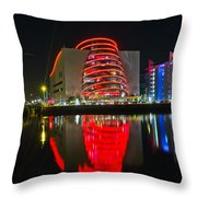 The Convention Centre Reflection Throw Pillow