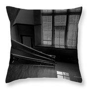 The Conversation Window Throw Pillow