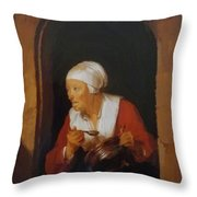The Cook 1665 Throw Pillow