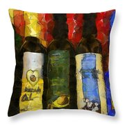 The Cook's Elixirs Throw Pillow