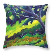 The Cool Shade Throw Pillow