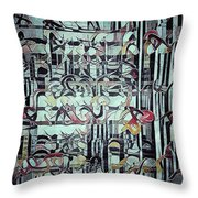 The Copied Myths  Throw Pillow