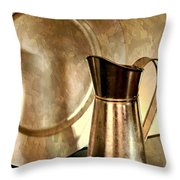 The Copper Pitcher Throw Pillow