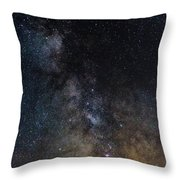The Core Of The Milky Way Throw Pillow