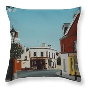 The Corner Note, Dalkey Throw Pillow