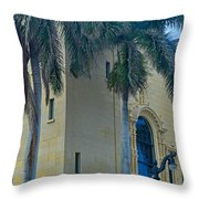 The Cornerstone Of The Community Throw Pillow