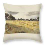 The Cornfield  Throw Pillow