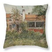 The Cottage. From A Home Throw Pillow