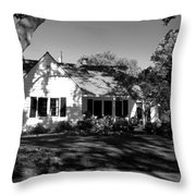 The Cottage House Throw Pillow