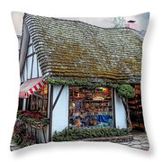 The Cottage Of Sweets - Carmel Throw Pillow