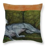 The Couch Potatoe Throw Pillow