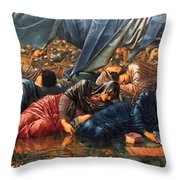The Council Chamber 1890 Throw Pillow