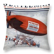 The Country Gentleman Throw Pillow