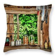 The Country Kitchen Throw Pillow