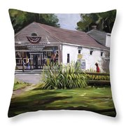 The Country Store Throw Pillow