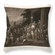 The County Election Throw Pillow