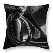 The Cowgirl Throw Pillow