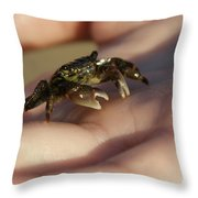 The Crab Throw Pillow