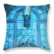 The Craftsmen Lantern Throw Pillow