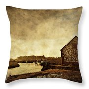 The Creek Throw Pillow