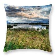 The Creston Valley Throw Pillow