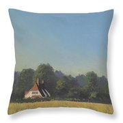 The Crooked Billet Throw Pillow