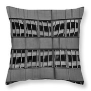 The Crooked House Throw Pillow