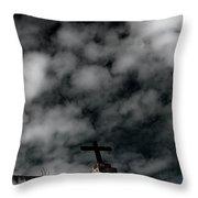 The Cross 1 Throw Pillow