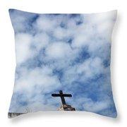 The Cross 2 Throw Pillow