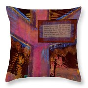 The Cross Throw Pillow