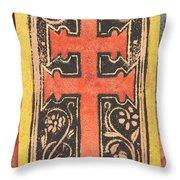 The Cross Throw Pillow