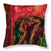 The Cross, The World And Fire - Bgcwf Throw Pillow