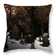 The Crossing Throw Pillow