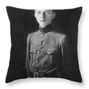 The Crown Prince L Opold Throw Pillow