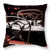 The Crucial Element Throw Pillow