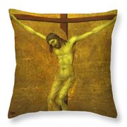 The Crucifixion 1311 Throw Pillow