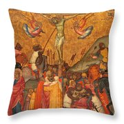 The Crucifixion Throw Pillow