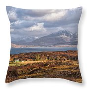The Cuillin Throw Pillow
