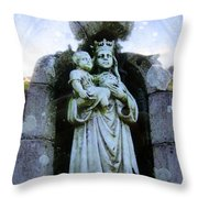 The Cup And The Child Throw Pillow