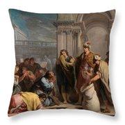 The Cup In Benjamin Sack Amigoni, Jacopo Throw Pillow