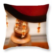 The Curve Of Desire Throw Pillow