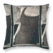 The Curve Of The Hip Throw Pillow