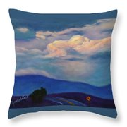 The Curve Throw Pillow