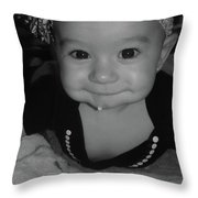 The Cutest Drool Throw Pillow